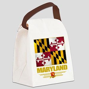 Maryland (Flag 10) Canvas Lunch Bag
