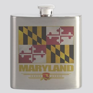 Maryland (Flag 10) Flask