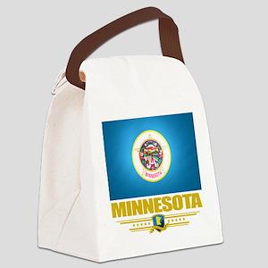 Minnesota (Flag 10) Canvas Lunch Bag