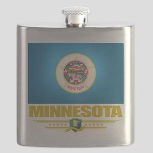 Minnesota (Flag 10) Flask