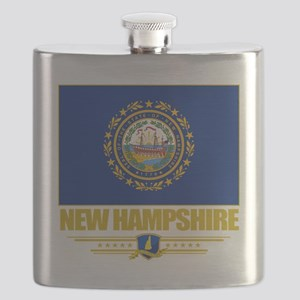 New Hampshire (Flag 10) Flask