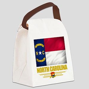 North Carolina (Flag 10) Canvas Lunch Bag