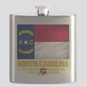 North Carolina (Flag 10) Flask