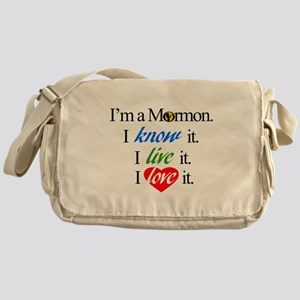 I'm a Mormon Messenger Bag