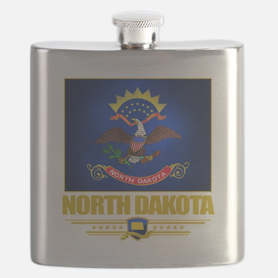 North Dakota (Flag 10).png Flask