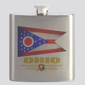 Ohio (Flag 10) Flask