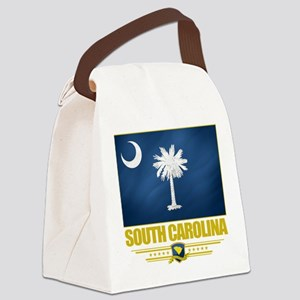 South Carolina (Flag 10) Canvas Lunch Bag