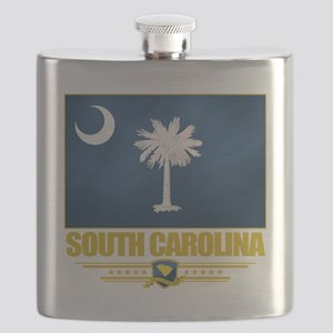 South Carolina (Flag 10) Flask