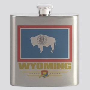 Wyoming (Flag 10) Flask