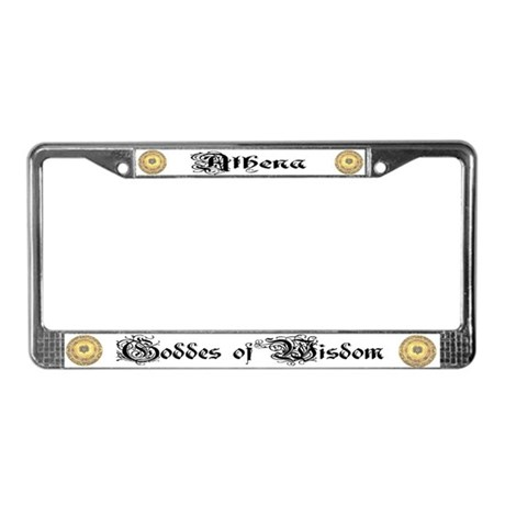 Athena License Plate Frame