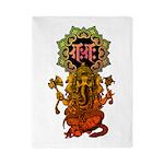 Ganesha bonji 2 Twin Duvet