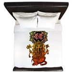 Ganesha bonji 2 King Duvet