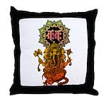 Ganesha bonji 2 Throw Pillow