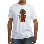 Ganesha bonji 2 Fitted T-Shirt