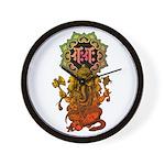 Ganesha bonji 2 Wall Clock