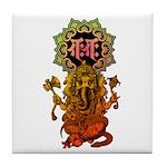 Ganesha bonji 2 Tile Coaster