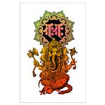 Ganesha bonji 2 Large Poster