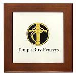 Tampa Bay Fencers Framed Tile