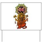 Ganesha bonji 2 Yard Sign