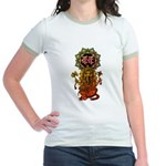 Ganesha bonji 2 Jr. Ringer T-Shirt