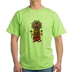 Ganesha bonji 2 Green T-Shirt