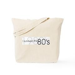 1980s, 1980's Tote Bag