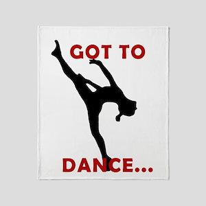 Dance / Gymnastics Throw Blanket