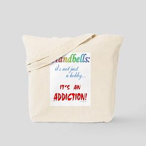 Handbell Addiction Tote Bag