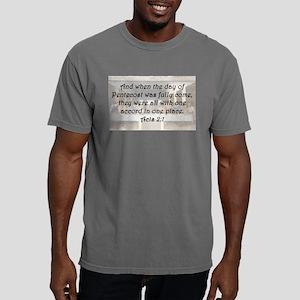 Acts 2:1 Mens Comfort Colors Shirt