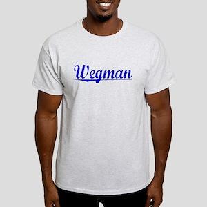 Wegman, Blue, Aged Light T-Shirt