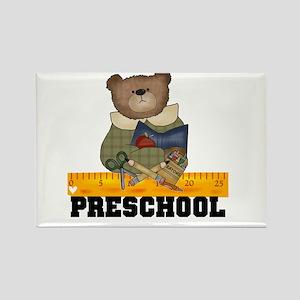 Bear Preschool Rectangle Magnet