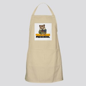 Bear Preschool BBQ Apron