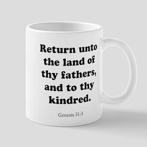 Genesis 31:3 Mug