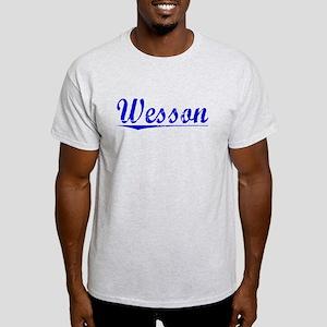 Wesson, Blue, Aged Light T-Shirt