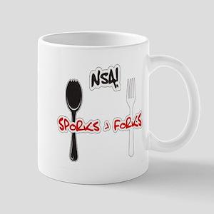 Sporks > Forks Mug