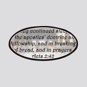 Acts 2:42 Patch