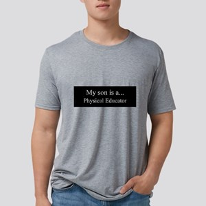 Son - Physical Educator Mens Tri-blend T-Shirt