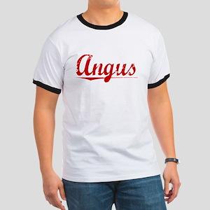Angus, Vintage Red Ringer T