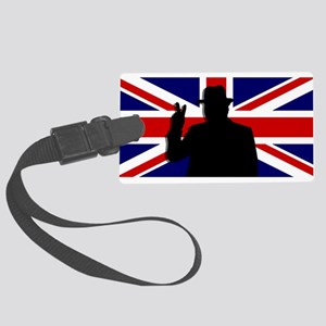 Winston Churchill Victory Large Luggage Tag