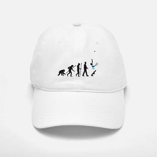 evolution tennis player Baseball Baseball Cap