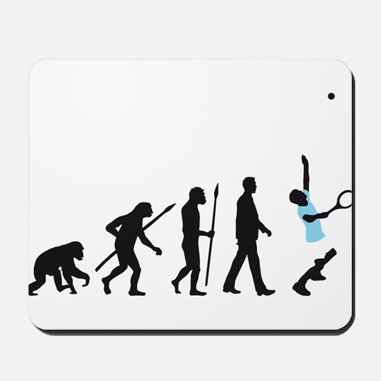 evolution tennis player Mousepad