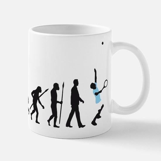 evolution tennis player Mug