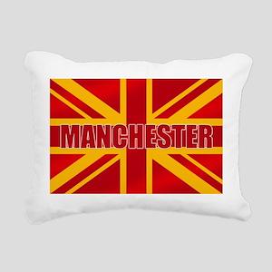 Manchester England Rectangular Canvas Pillow
