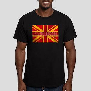 Manchester England Men's Fitted T-Shirt (dark)