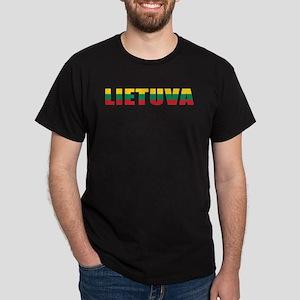 Lithuania Black T-Shirt
