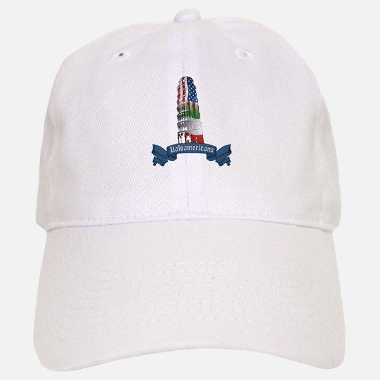 Italoamericano Leaning Tower of Pisa Baseball Baseball Cap