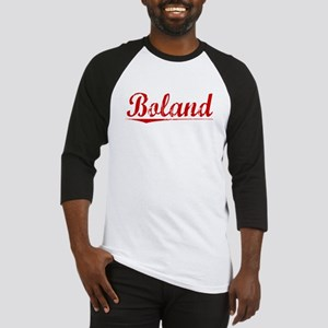 Boland, Vintage Red Baseball Jersey