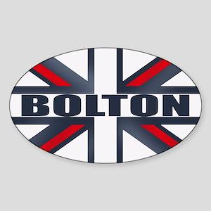 Bolton England Sticker (Oval)
