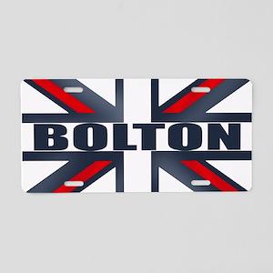 Bolton England Aluminum License Plate