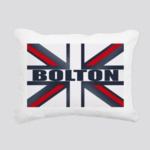 Bolton England Rectangular Canvas Pillow